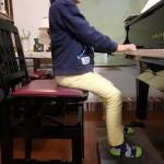 ピアノ教室 徳島 足台