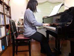 ピアノ 姿勢
