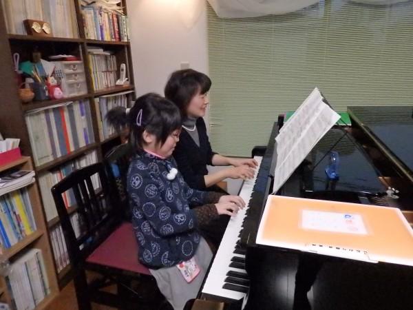 ピアノ レッスン 連弾